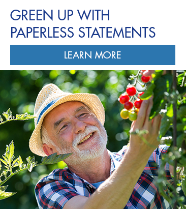Green Up with Paperless Statements